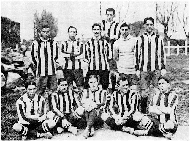 1910: Extasis en el primer gran derbi en rojo y blanco - IRATZAR - Athletic  Club Bilbao
