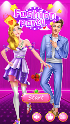Fashion Party - Dress up Game APK screenshot thumbnail 1