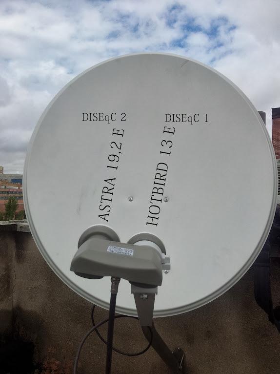 Como recepcionar varios satelites
