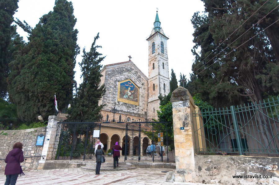 Церковь Посещения, Иерусалим, Эйн Карем.