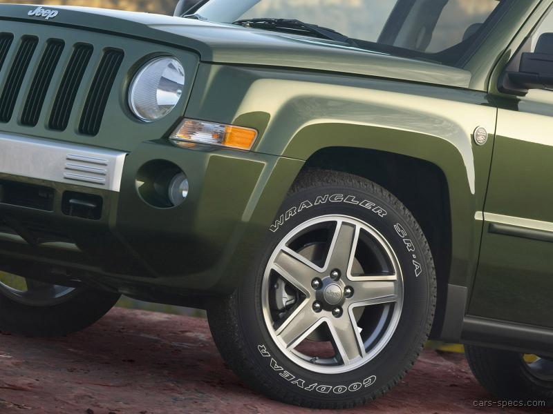 2010 jeep patriot suv specifications pictures prices. Black Bedroom Furniture Sets. Home Design Ideas