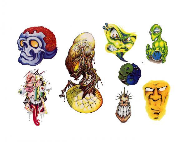 Design Of Magical Tattoo 2, Fantasy Tattoo Designs