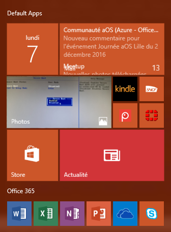 Office 365: icons does not show up on the start menu | OS|DC