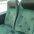 De stoel van de Mercedes van Deiman Tours bus 45