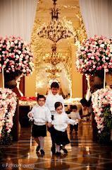 Foto 1054. Marcadores: 15/08/2009, Casamento Marcella e Raimundo, Daminhas Pajens, Rio de Janeiro