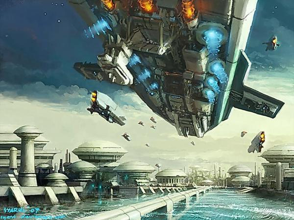 Space Ships Attack, Fiction 1