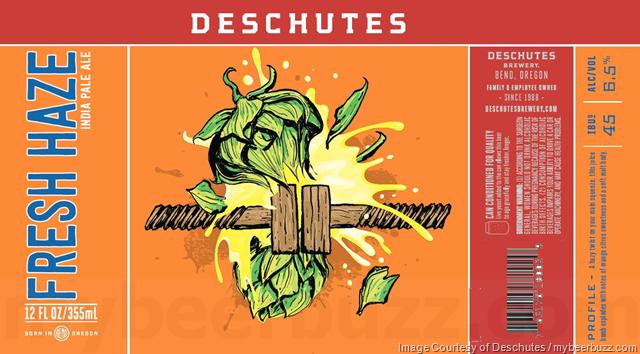 Deschutes Adding Fresh Haze IPA Cans