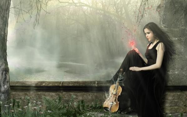 Song Of Heart Of Violin, Gothic