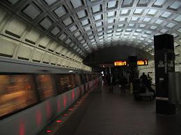 Washington DC subway.