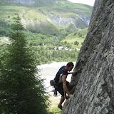 Fotos da escalada deportiva en Arsine, 8 de xullo de 2011