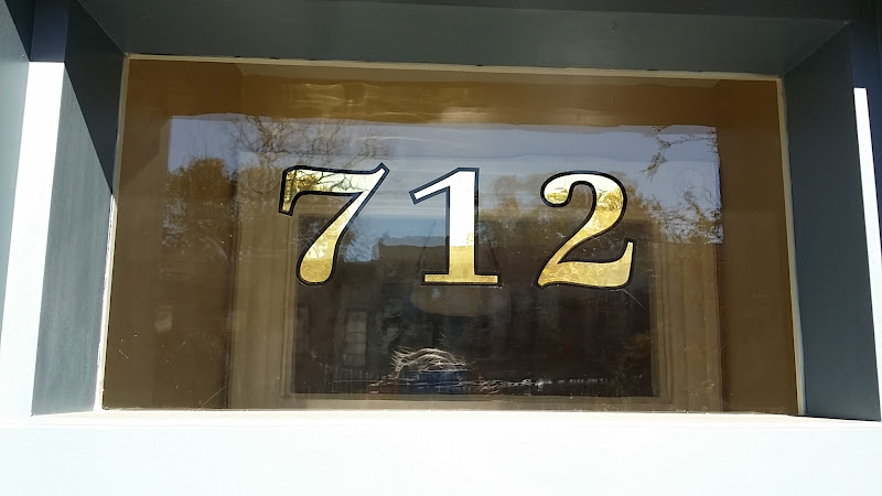 gold leaf numbers washington dc 712