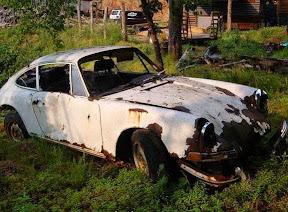 Abandoned Porsche 911 Classic