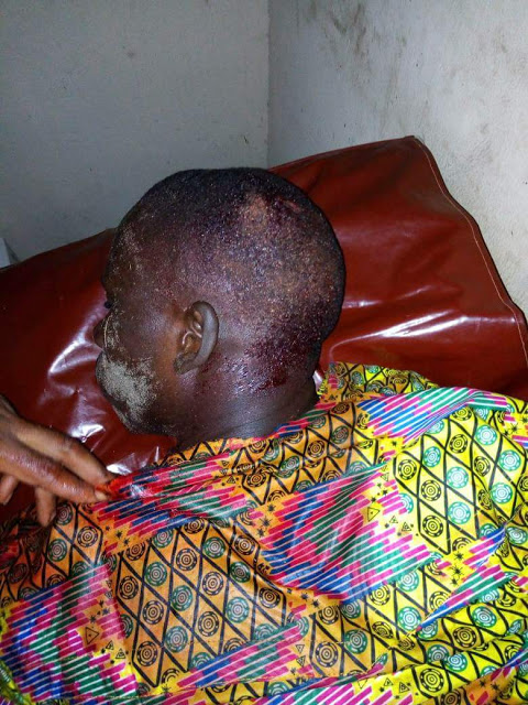 Brass On Fire, Several Injured As APC Thugs Attacks PDP In Bayelsa State (Photos)