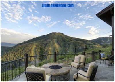 Balkon sebagai ruang santai yang nyaman