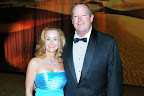 Gail Landreth, Jewel Charity Ball president, and her husband, Bill Landreth.
