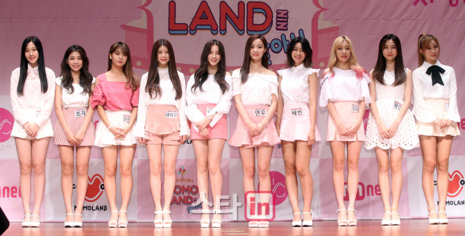 finding momoland