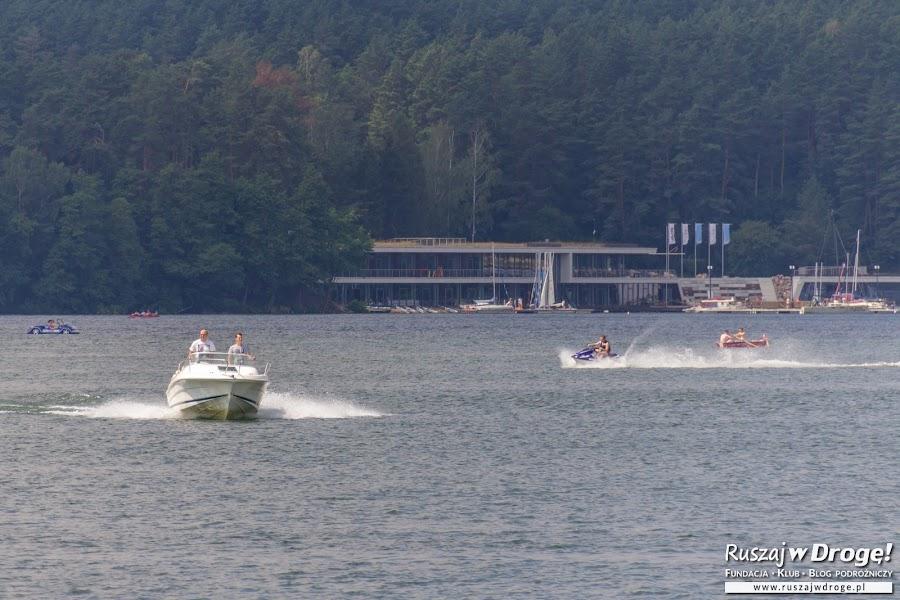 Wodne szaleństwa na jeziorze Ukiel