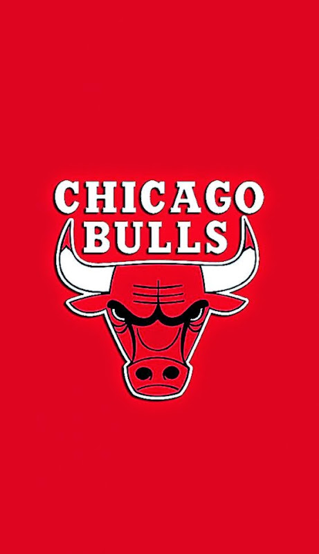 Chicago Bulls Red iPhone 5 Wallpaper 640x1136