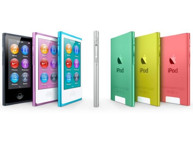 ipod nano colores