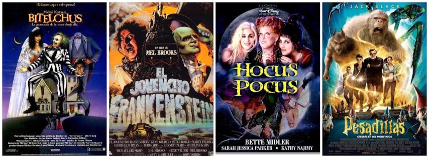 Bitelchus, el jovencito Frankenstein, el retorno de las brujas y Pesadillas