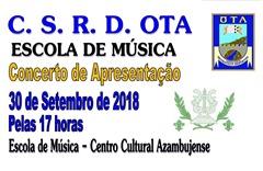 CSRDO - Escola Múisica - Concerto