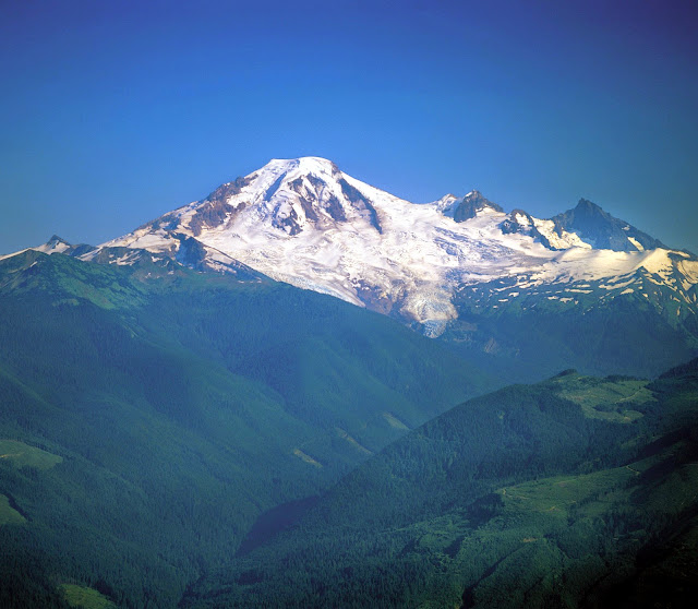 Mt. Baker is known worldwide - famous for skiing and hiking, and a host of other outdoor recreational activities.Credit: Bellingham Whatcom County Tourism