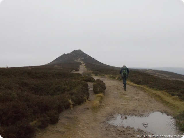 approaching win hill