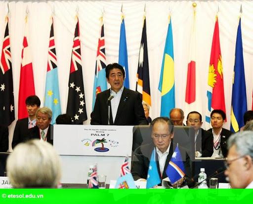 Hình 1: Nhật Bản hỗ trợ 55 tỷ yen cho các quốc đảo Thái Bình Dương