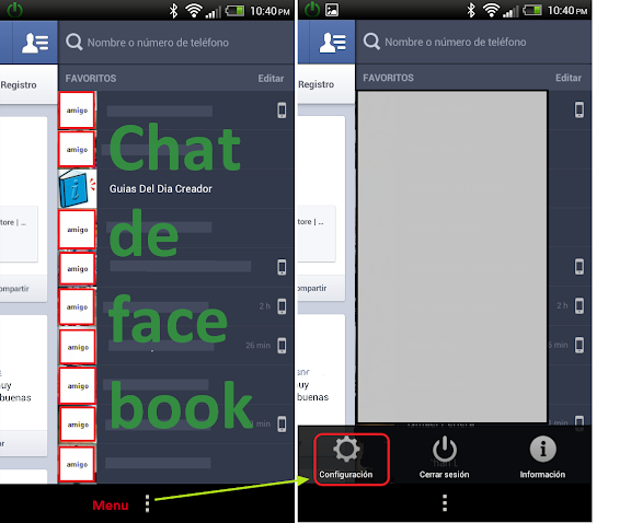 chat facebook version 2.1