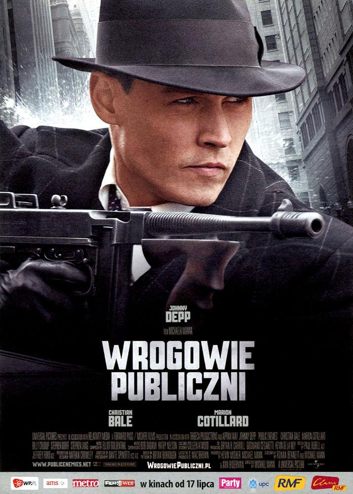 Ulotka filmu 'Wrogowie Publiczni (przód)'