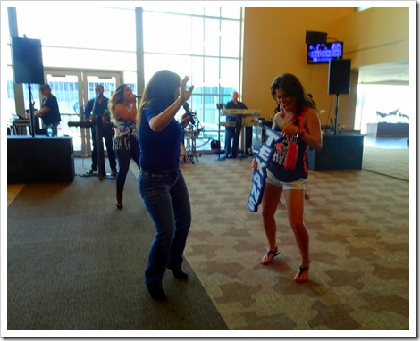 Carrie dancing