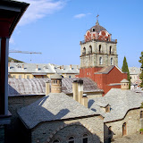 32. Holy Monastery of Iviron. The Bell-tower and the Refectory