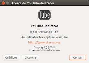 Descargar videos en Ubuntu con YouTube-Indicator