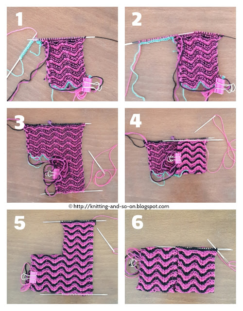 Bitilasana Yoga Socks - free knitting pattern by Knitting and so on