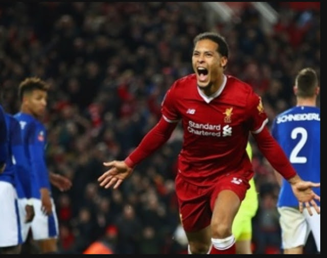 Liverpool 2 Everton 1, FA Cup match highlight