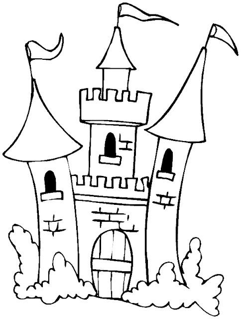 Dibujos De Castillos Para Pintar