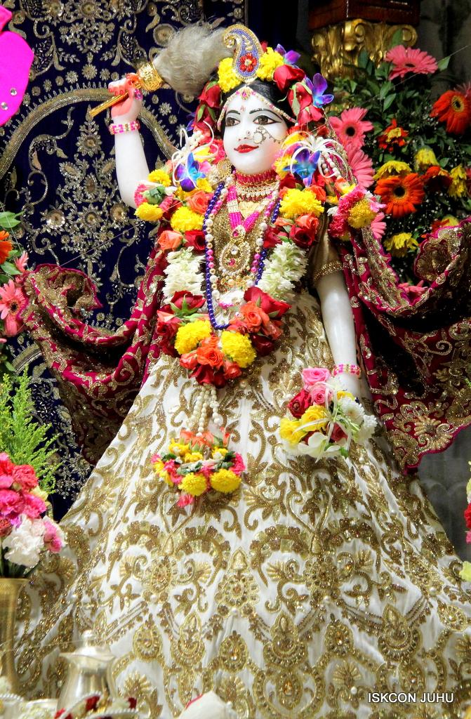 ISKCON Juhu Sringar Deity Darshan on 11th Sep 2016 (13)