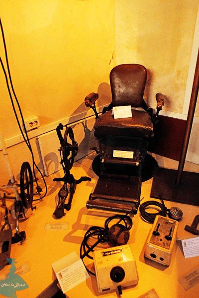 sala aparaturii medicale muzeul farmaciei cluj