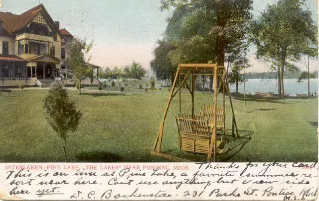 Interlaken Hotel Postcard
