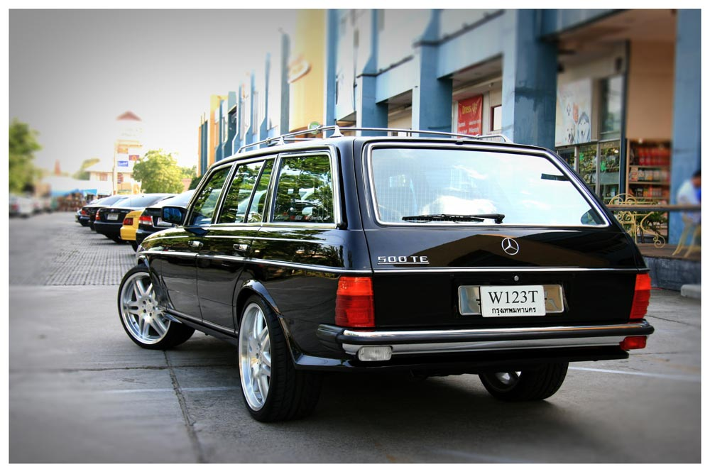 Mercedes-Benz W123 BRABUS WAGON   BENZTUNING