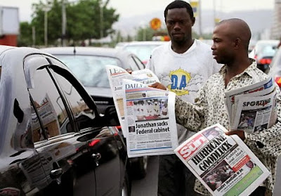Latest Nigeria Newspapers Review for Today 27th September, 2016