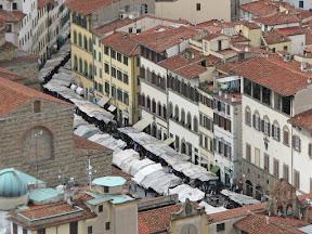 Mercato San Lorenzo from the Duomo