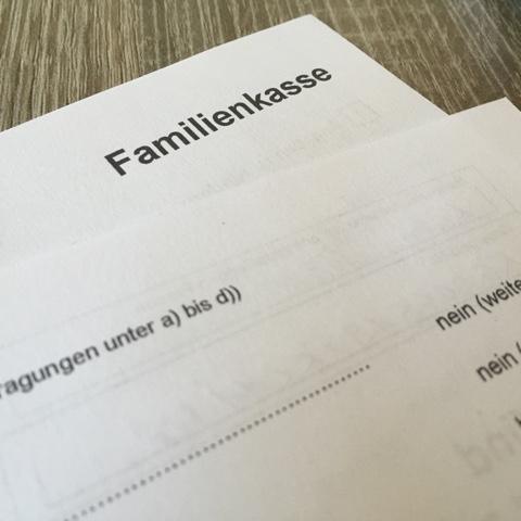 Formulare nach der Geburt