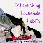 establishing household habits