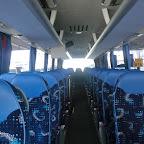 Het interieur van de M.A.N van Jan De Wit group bus 350
