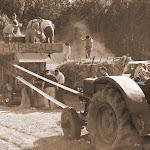 La batteuse centenaire (L'équipe de Saint-Sorlin)