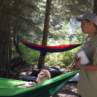 Wouldn't you think the guy working on the requirements should be in the hammock...not the other way around?