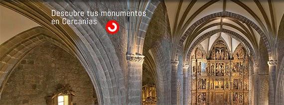 Conoce tus monumentos en Cercanías