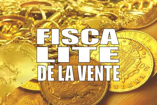 fiscalité de la vente d'or