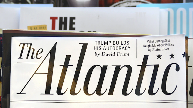 The Atlantic Forced To Issue Major Correction To Report After Admitting Author 'Deceived' Readers